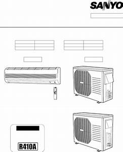 Sanyo Air Conditioner Khs2472 User Guide