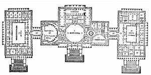 U  S  Capitol  Plan Of The Principal Story