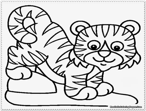Coloring Harimau by Baby Tiger Coloring Pages Coloring Pages Coloring