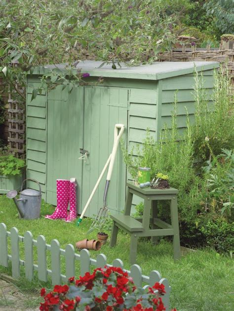 rangement jardin des idees pratiques pour  joli jardin