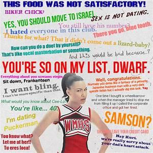 Image - Santana... Glee Rumors Quotes