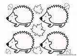 Hedgehog Coloring Line Kindergarten Drawing Drawings Printable Colorings Preschool Getdrawings Getcolorings sketch template