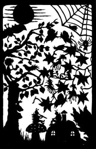 ullabenulla paper cut fairytales