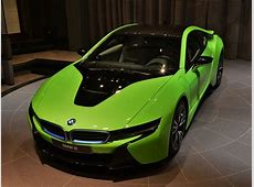 This Alien Green BMW i8 Looks Out of This World!