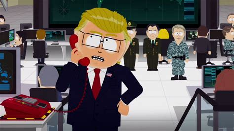 'south Park' Donald Trump Character Goaded Into Bombing
