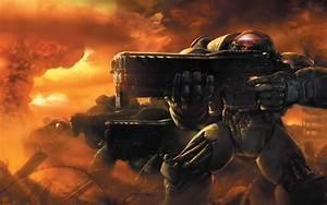 C&C Zone Trooper vs. StarCraft Terran Marine ...