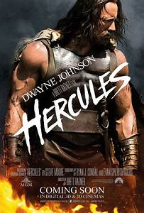 New Hercules poster shows Dwayne Johnson so ripped his ...