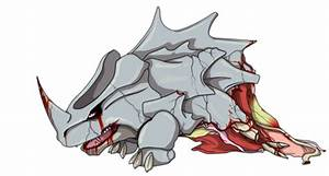 Pokemon Rhyhorn Evolution Images | Pokemon Images