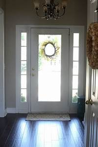 Painting, The, Inside, Of, The, Front, Door, Black