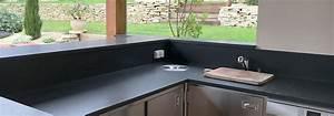Plan De Travail Granit : plans de travail sur mesure pas cher granit ardoise ~ Dailycaller-alerts.com Idées de Décoration