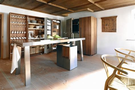 The New Kitchen Design Trend: Wood Minimalism   WSJ