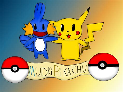 Pikachu And Mudkip By Tigerrb On Deviantart