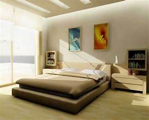 The Comfortable And Practical Minimalist Bedroom Interior ...