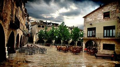 Spain Spanish Wallpapers Cafe Landscape Hdr Urban