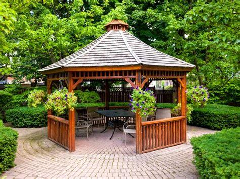 patio gazebos hgtv