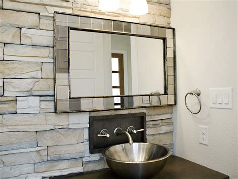 Diy Antique Mirror Bathroom Traditional With Light Green
