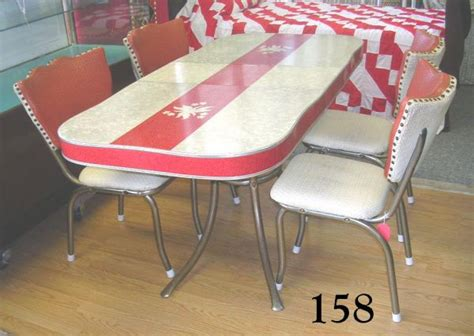 Vintage Formica Table And Chairs by 70158 70158 Vintage 1950s Chrome Formica Table Chairs