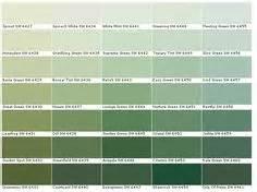 kwal paint color chart paint chart chip sle