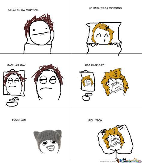 Bad Hair Day Meme - bad hair day by jak24 meme center