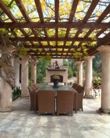 triyae com tuscan inspired backyard patio pictures