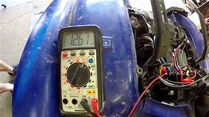 2008 Yamaha Grizzly 700 Not Charging