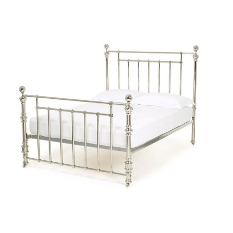 Plain Metal Bed Frame by Metal Beds For Sale Wrought Iron Bed Feather Black