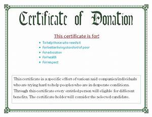 image gallery donation template With certificate of appreciation for donation template