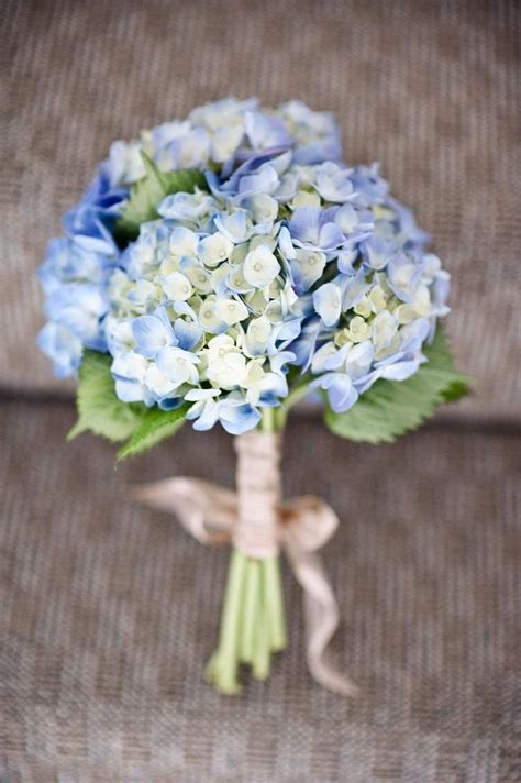 20 Classic Hydrangea Wedding Bouquets Flowers