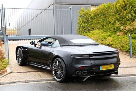 Aston Martin Dbs Volante 2020 Aston Martin Dbs Superleggera Volante Spied With