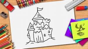 Wie Hält Man Ein Weinglas : wie zeichnet man ein schloss schloss zeichnen lernen fur kinder youtube ~ Watch28wear.com Haus und Dekorationen