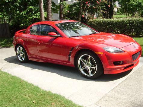 { Fs } 2005 Mazda Rx8 Red Auto 2tone Interior Rx8clubcom
