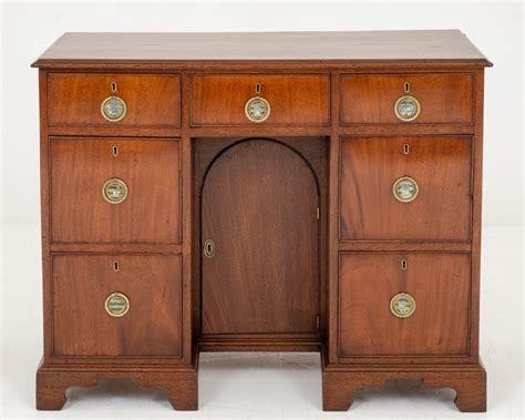 Georgian Desk by Antique Georgian Desk Mahogany Kneehole Desks 1800