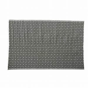 Tapis Antidérapant Exterieur : tapis d 39 ext rieur en polypropyl ne noir et blanc 180 x 270 ~ Edinachiropracticcenter.com Idées de Décoration