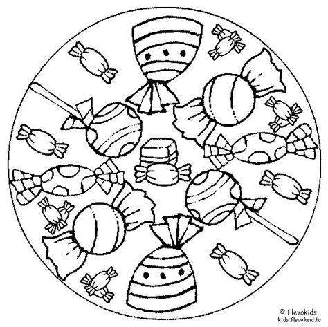 Kleurplaat Mandala Kleuters by 23 Best Mandala Kleuters Images On Bricolage