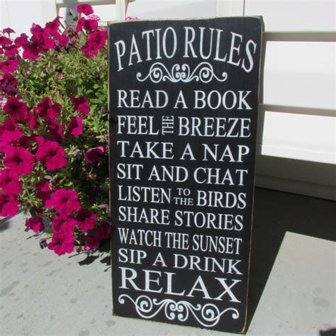 porch signpatio gift outdoor sign by jcwshop