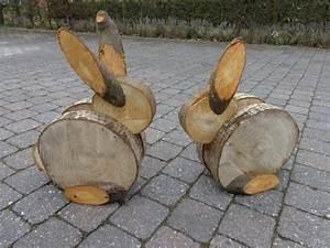 Holzfiguren Selber Machen : sch ne gartendeko aus holz ideen aus verschiedenen holzelementen ~ Orissabook.com Haus und Dekorationen