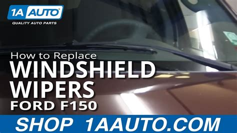 vehicle repair manual 1995 ford f150 windshield wipe control how to change replace windshield wipers 2004 11 ford f150 youtube