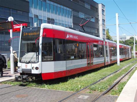 Havag Wagen 665 Mit 666 Als 5 Ammendorf Am Hauptbahnhof (1