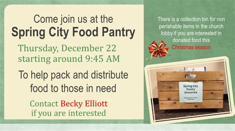 Starting A Food Pantry At Your Church City Food Pantry Ford Church