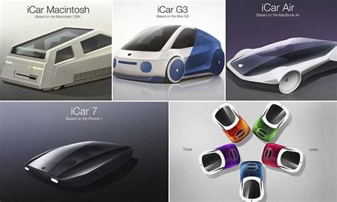 designers reveal  apples icar    daily
