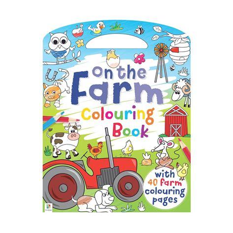 farm colouring book kmart