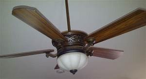 Ceiling fan upgrade install a with uplight