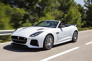 Jaguar F Type Cabriolet : jaguar f type convertible white ~ Medecine-chirurgie-esthetiques.com Avis de Voitures
