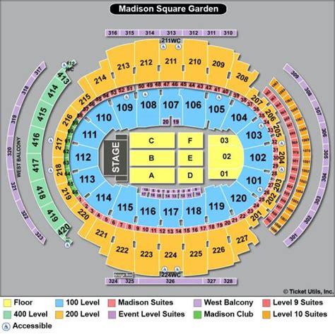 square garden concert seating chart msg seating chart concert seat numbers brokeasshome
