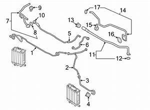 2015 Audi Rs7 Engine Coolant Overflow Hose  Vent Tube