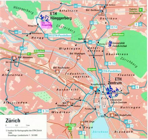large zurich maps     print high