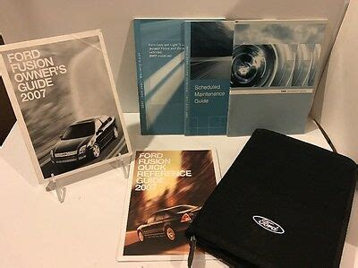 ford fusion owners manual guide books full pc