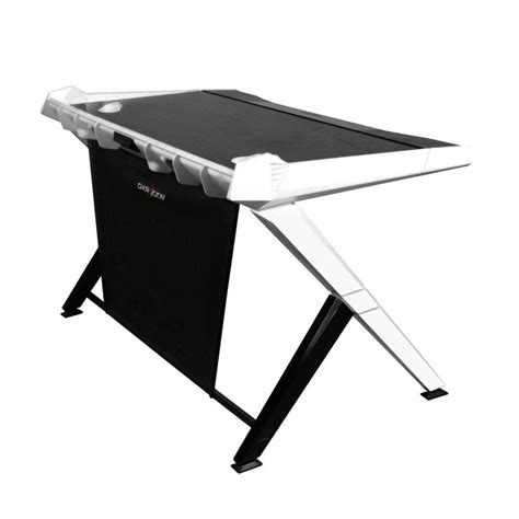 bureau de gamer bureau de pc gamer dxracer noir et blanc fauteuilgamer