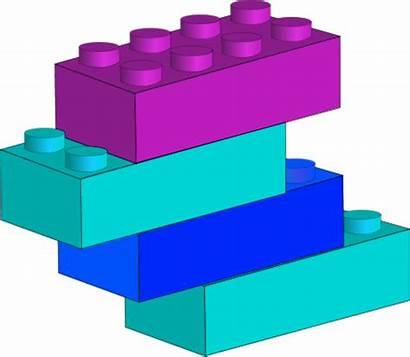 Lego Clipart Block Blocks Attach Brick Sign