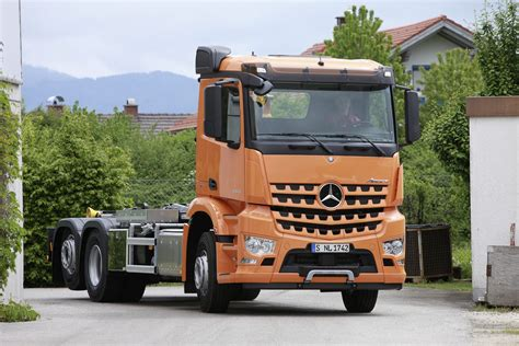 Mercedes Arocs by Ifat 2014 Mercedes And Daimler Ag